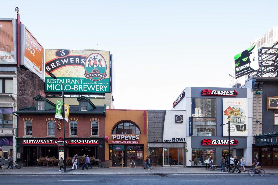 Rumpf Highstreets, Toronto, Kanada