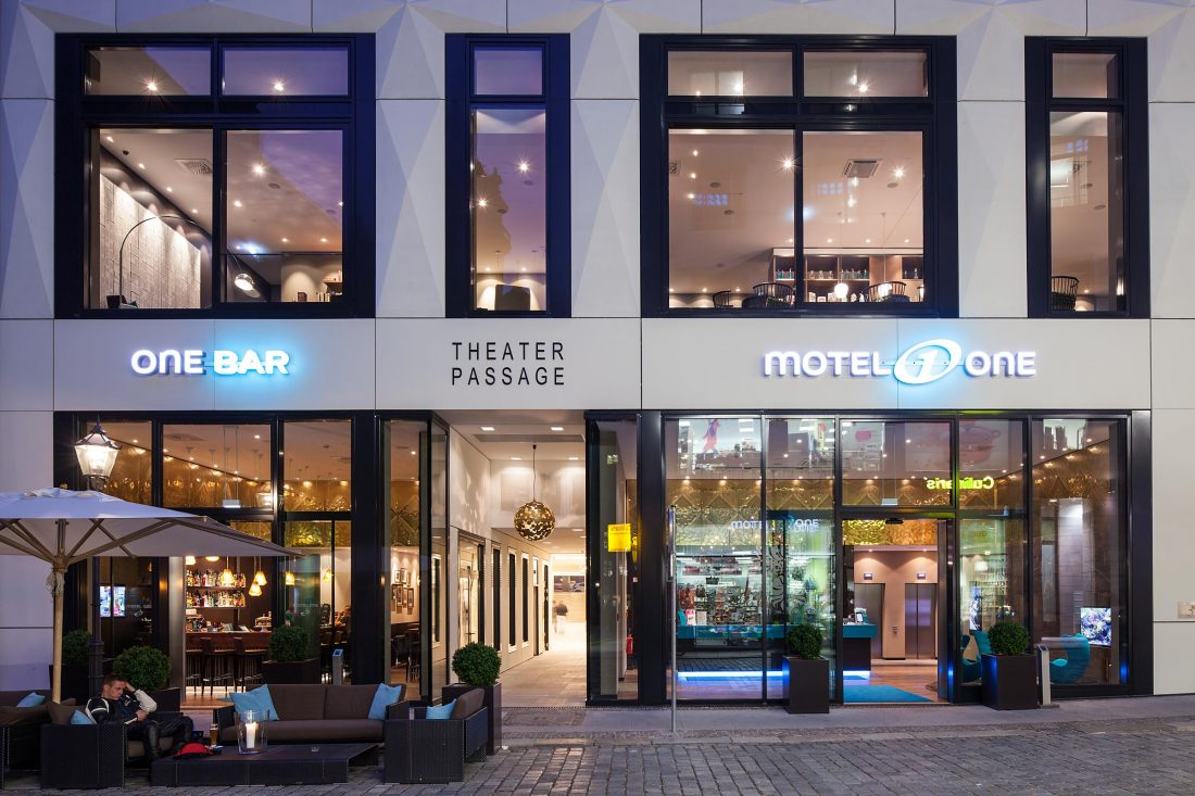 Motel One, Leipzig, Architekten RKW